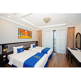 Combo 2N1D tại khách sạn D'LIORO Hotel Hạ Long 5* + Vé xe Limousine khứ hồi từ Hà Nội dành cho 02 người lớn & 01 bé dưới 5 tuổi