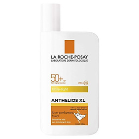 La Roche-Posay Anthelios XL Ultra-Light Fluid Facial Sunscreen SPF50+ 50ml