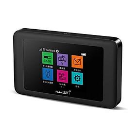 Phát wifi từ sim 4G LTE Huawei 602HW sóng siêu mạnh, vừa sạc vừa dùng, hỗ trợ 2 băng tầng, màn hình LCD cảm ứng, nội địa Nhật cực bền (đen) HÀNG NHẬP KHẨU