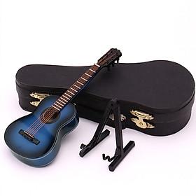 Mô Hình Đàn Guitar Cổ Điển Mini Bằng Gỗ Dùng Trang Trí
