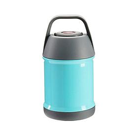 Bình ủ cháo giữ nhiệt 450ml cao cấp - Giao màu ngẫu nhiên + Tặng móc khóa hồ lô Nhật Pháp