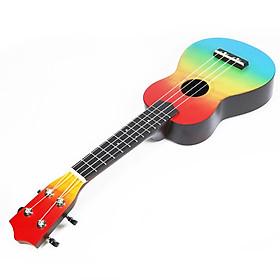 Đàn ukulele gỗ 4 dây thiết kế 21 inch cho trẻ em