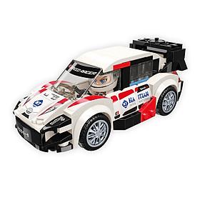 Đồ chơi lắp ráp Xe đua tốc độ Aurora WRC-11 Qman 4201-1 (189 chi tiết)