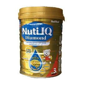 Sữa bột NUTI IQ Diamond số 3 cho trẻ từ 1-2 tuổi - 900g
