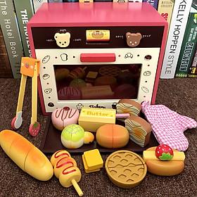 Đồ chơi Lò nướng bánh gấu cho bé