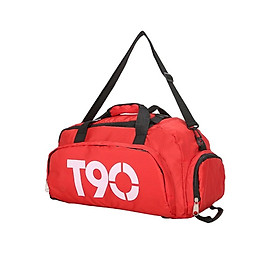 Hình đại diện sản phẩm Túi xách thể thao T90, túi xách du lịch đựng đồ tập cao cấp - POKI