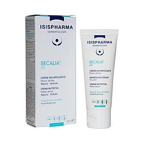 Kem dưỡng cho da khô, nhạy cảm, da kích ứng do nắng, bỏng rát Secalia DS - Isis Pharma (40ml)
