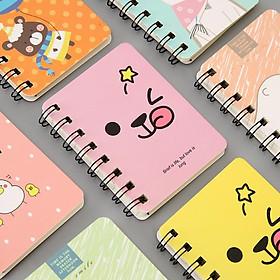 Combo 3 quyển sổ mini nhiều mẫu kute dễ thương khác nhau