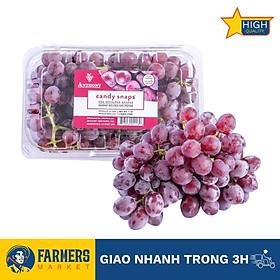Nho đỏ kẹo Candy Snaps Mỹ (Hộp 500G) - Size trái nhỏ xinh, cơm mọng, ngọt thanh và vị kẹo thơm nồng nàn hấp dẫn.