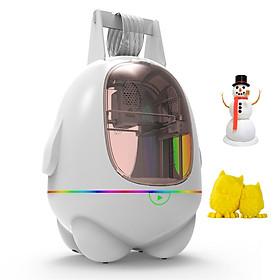 Máy in 3D EasyThreed mini để bàn kích thước 80x80x100mm không có chức năng in dùng làm đồ chơi trẻ em