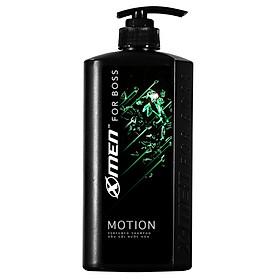 Dầu gội nước hoa X-Men For Boss Motion - Mùi hương năng động phóng khoáng 650g