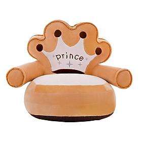 Adorable Children Seat Sofa Cover Baby Snuggle Sofa Plush Toy Bean Bag