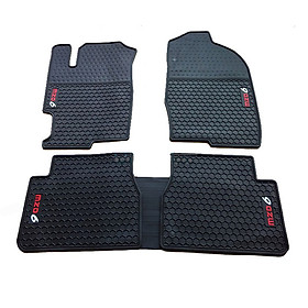 Thảm sàn lót chân cao su dành cho ô tô MAZDA 6 Chống trơn trượt, Chống bám bẩn, Không mùi thân thiện môi trường, Dễ dàng vệ sinh, lau chùi, Màu đen tiện dụng sang trọng