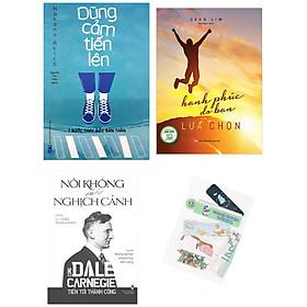 Combo Dũng Cảm Tiến Lên - 7 Bước Thay Đổi Bản Thân + Hạnh Phúc Do Bạn Lựa Chọn (Bìa Mềm) + Nói Không Với Nghịch Cảnh - (Tặng Kèm Bookmark Yêu Thương)