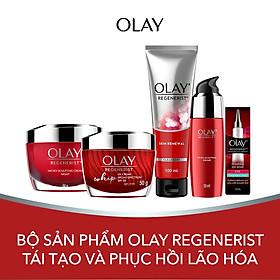 Trọn bộ 5 sản phẩm chống lão hóa Olay Regenerist
