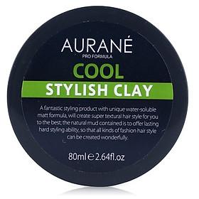 Sáp tạo kiểu tóc nam cứng mờ Aurane Cool Stylish Clay 80ml-3