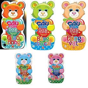 Bộ 05 Cuốn Gấu Con Thông Minh - Dành Cho Trẻ Mầm Non