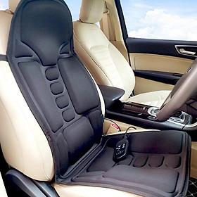 Đệm massage toàn thân dùng trải trên ghế, ô tô, cực tiện lợi và thư giãn