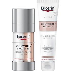 Tinh Chất Dưỡng Trắng Da Giảm Thâm Nám Eucerin Double Bosster Serum (30ml) Tặng Sữa Rửa Mặt Utra White