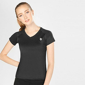 Hình đại diện sản phẩm Áo Thể Thao Nữ W Basic V Neck Black