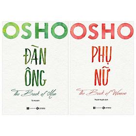 Combo 2 Cuốn: Osho Đàn Ông + Osho Phụ Nữ