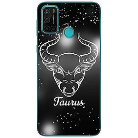 Ốp lưng dành cho Vsmart Joy 4 mẫu Cung hoàng đạo Taurus (đen)