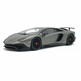 Xe Mô Hình Mh Lamborghini Aventador Lp750-4 Sv 1:18 Autoart - 74554 (Xám)