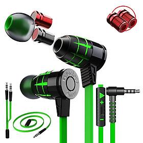 Tai phone, tai nghe headphone nhét tai cho Game thủ chuyên nghiệp Plextone G25, thiết kế độc đáo kèm nút biến đổi âm thanh(Variable Sound) hỗ trợ chống ồn mẫu mới 2020 nghe nhạc hay hơn tai nghe AKG. - Hàng Chính Hãng.