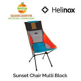 Ghế dã ngoại xếp gọn Helinox Sunset Chair Multi Block
