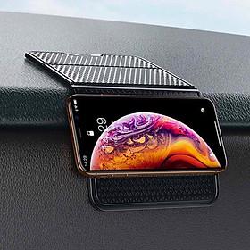 Miếng dán cao su Nano giữ cố định đồ vật trên xe hơi Baseus Folding Bracket Antiskid Pad - Hàng chính hãng
