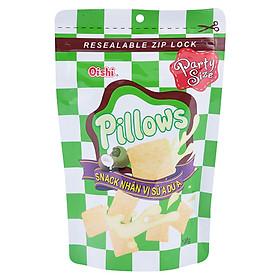 Bánh Snack Nhân Sữa Dừa Oishi Pillows (100g)