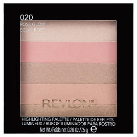 Revlon Blush Highlight Palett Rose Glow