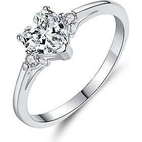 Nhẫn bạc nữ Romantic Lover