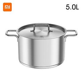 Youpin Soup Pot Stainless Steel Pot Stew Pot Soup Home Induction Cooker Pot Spice Tank Pot Miso Instant Pot Kitchen 5L