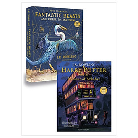 Combo Fantastic Beasts And Where To Find Them - Harry Potter And The Prisoner Of Azkaban: Illustrated Edition