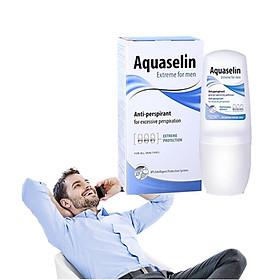 Lăn Nách Dành Cho Nam Aquaselin Extreme For Men Antiperspirant For Excessive Persp 50ml (Tặng Hồng Trà Sữa / Cafe Macca)