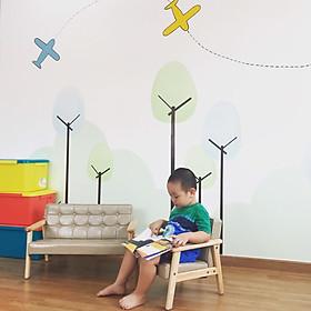 Combo 2 Ghế ngồi chơi, Ghế ngồi đọc sách, Ghế thư giãn cho bé