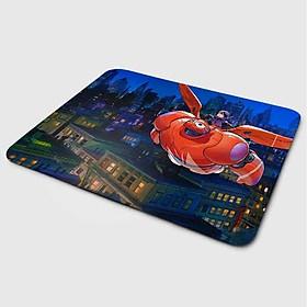 Miếng lót chuột mẫu Baymax Bay (20x24 cm) - Hàng Chính Hãng