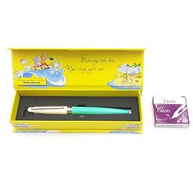 Bút Máy Ngòi Mài Eras E002 - Màu Xanh Mint