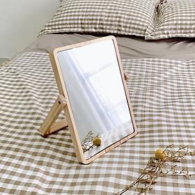 Gương Để Bàn Khung Gỗ OCHU - Mini Mirror