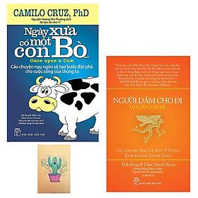 Hình đại diện sản phẩm Combo Ngày Xưa Có Một Con Bò... và Người Dám Cho Đi (Tặng Kèm Sổ Tay)
