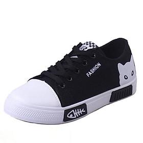 Giày sneaker nữ thể thao - Giày cho.se đế chống trơn - Phối đồ dễ dàng