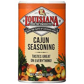 Bột gia vị Cajun seasoning Louisana 227gram