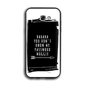 Ốp lưng Harry Potter cho điện thoại Samsung Galaxy A7 2017 - Viền TPU dẻo - 02016 7780 HP02 - Hàng Chính Hãng