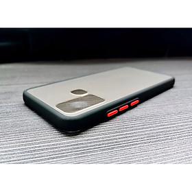 Ốp lưng trong nhám viền màu chống sốc cho SamSung Galaxy A21s