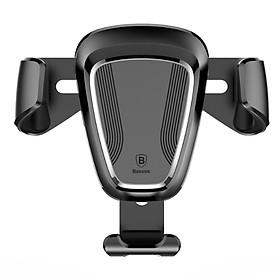 """Giá đỡ điện thoại xoay 360 độ  Baseus gắn trên cửa gió điều hòa ô tô, xe hơi SUYL-01, Tính năng khóa/ mở tự động,Được trang bi các đệm lót cao su, Phù hợp với nhiều loại điện thoại khác nhau với kích thước màn hình từ 4"""" đến 6"""""""