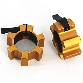 Khoá đòn tạ nhôm Barbell Clamps 50mm Sportslink G0007 (Cặp)