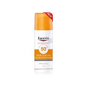 Kem chống nắng dưỡng trắng da Eucerin Sun Serum Double Whitening SPF50+ 50ml (Nhập khẩu)