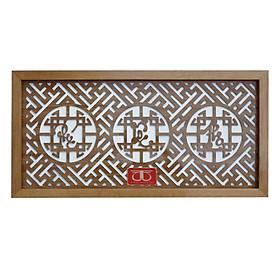 Tấm chống ám khói hương bàn thờ chữ Phúc Lộc  Thọ - TL305
