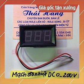 Mạch đo nhiệt độ DC từ 0-200 v [ShopUyTín]